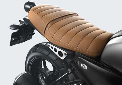 Desain jok bergaya klasik pada XSR 155