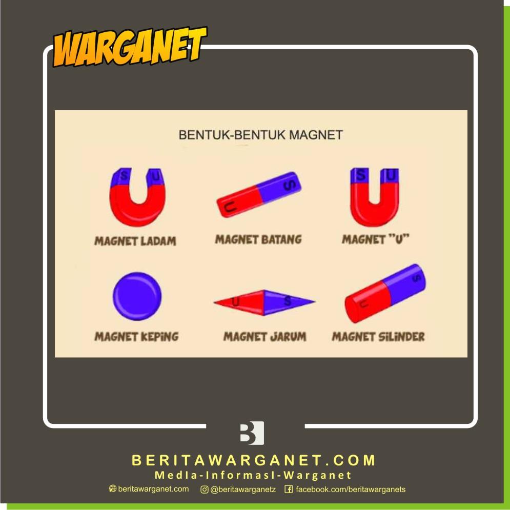 bentuk - bentuk magnet