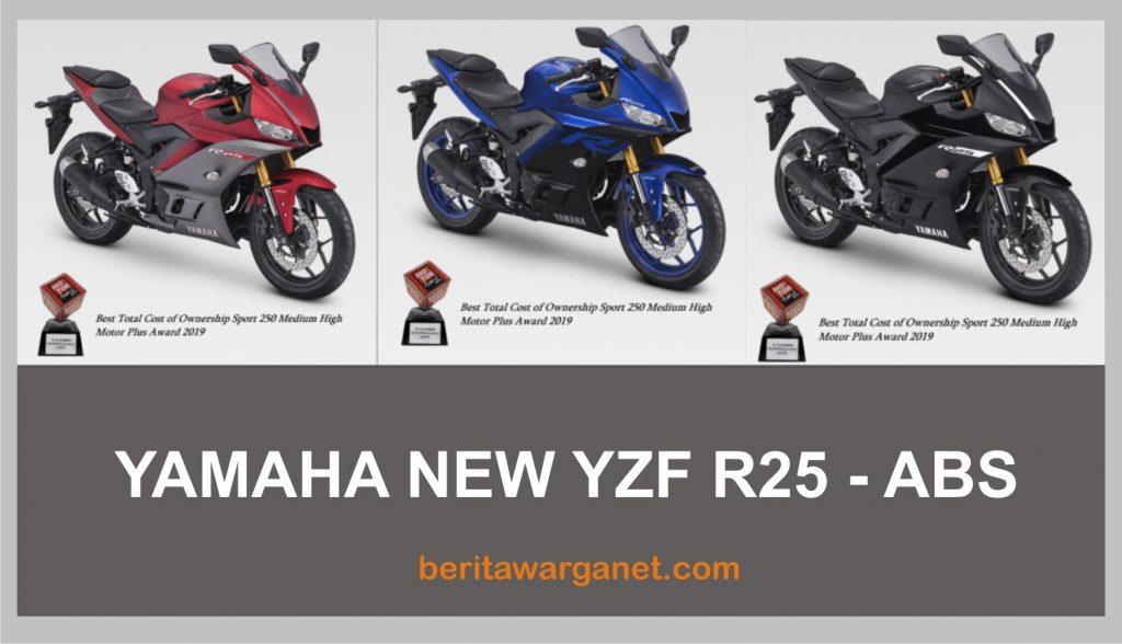 warna yamaha NEW YZF R25 - ABS
