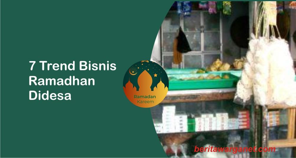 7 trend bisnis ramadhan di desa