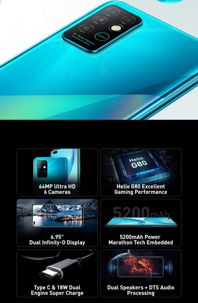 Inifix Note 8 hp Android 2 jutaan terbaik