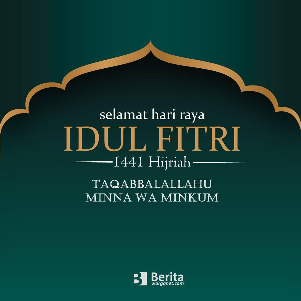 Kartu Ucapan Idul Fitri 2021