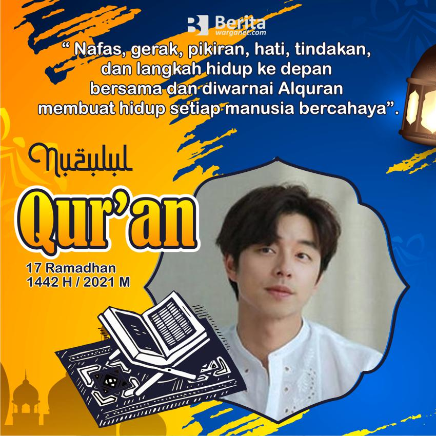 twibbon peringatan Nuzulul Quran Ramadhan 2021