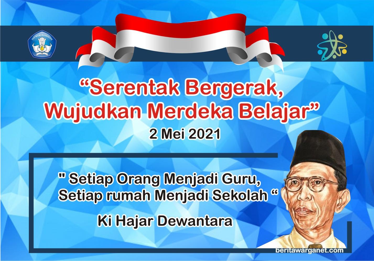 gambar qotes hari pendidikan nasional new