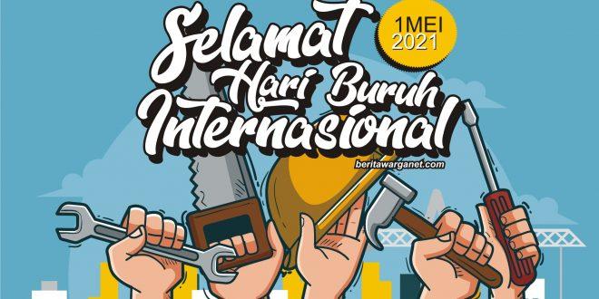 Poster Hari Buruh 2021