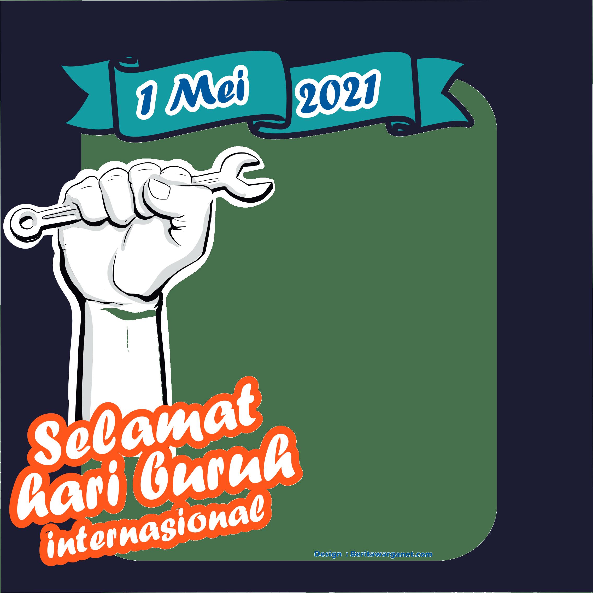 Twibbonize Hari Buruh 2021