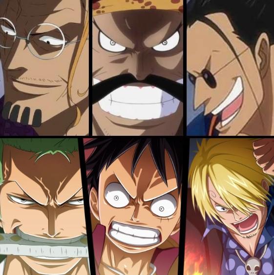 10 Trio Terkuat One Piece, Bukan Luffy CS?