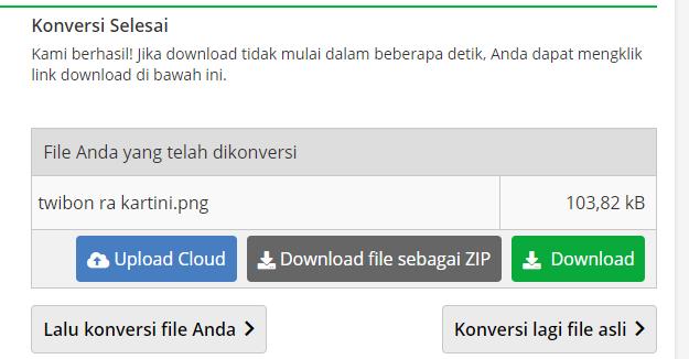 Download File Covert PNG pada aplikasi COnverter PNG