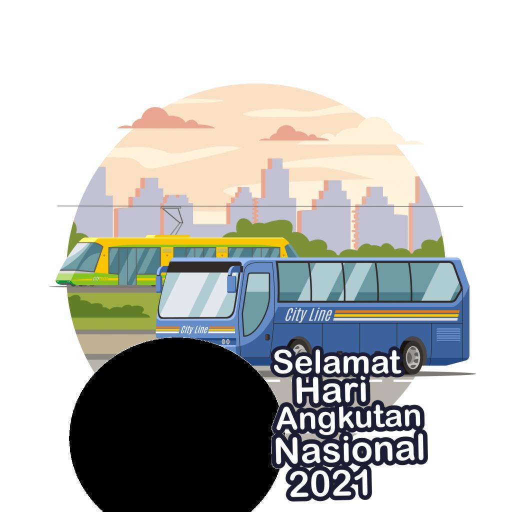 poster hari angkutan nasional 2021