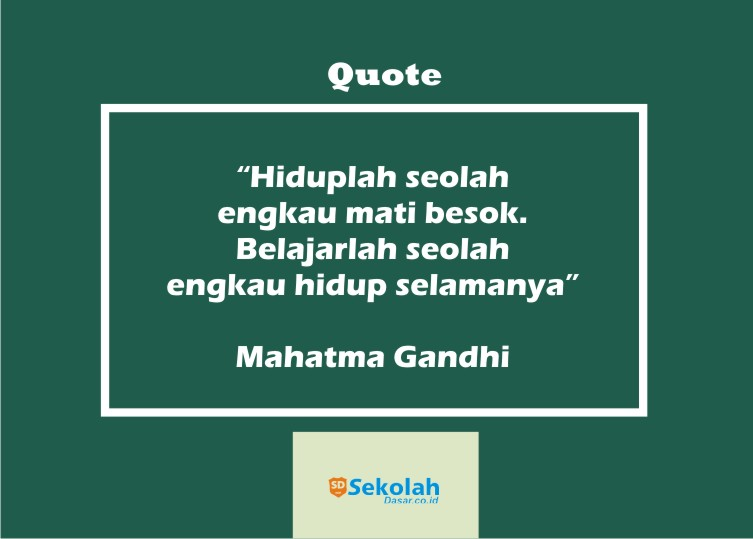 quote pendidikan dari berbagai tokoh