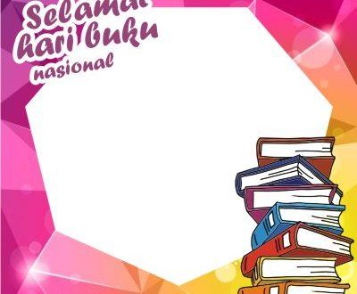 Twibbon Hari Buku Nasional 2021
