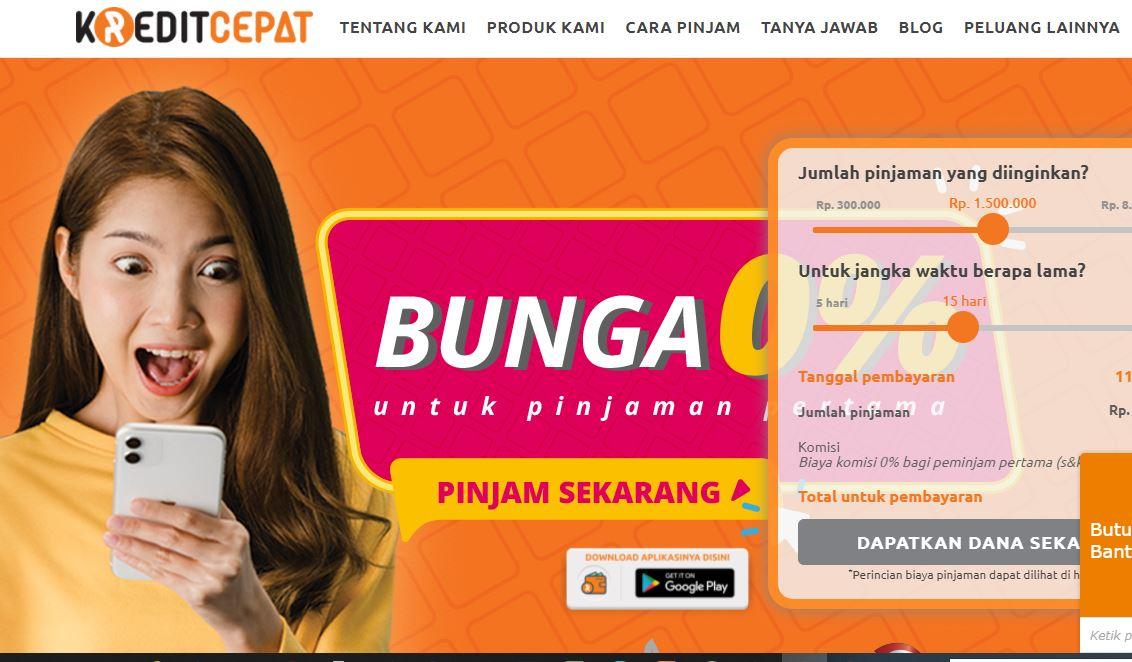 Aplikasi Kredit Cepat Pinjaman Online Resmi diakui OJK cepat cair