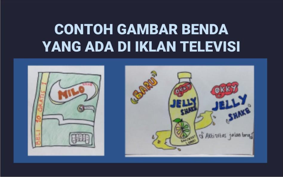 CONTOH GAMBAR BENDA YANG ADA DI IKLAN TELEVISI