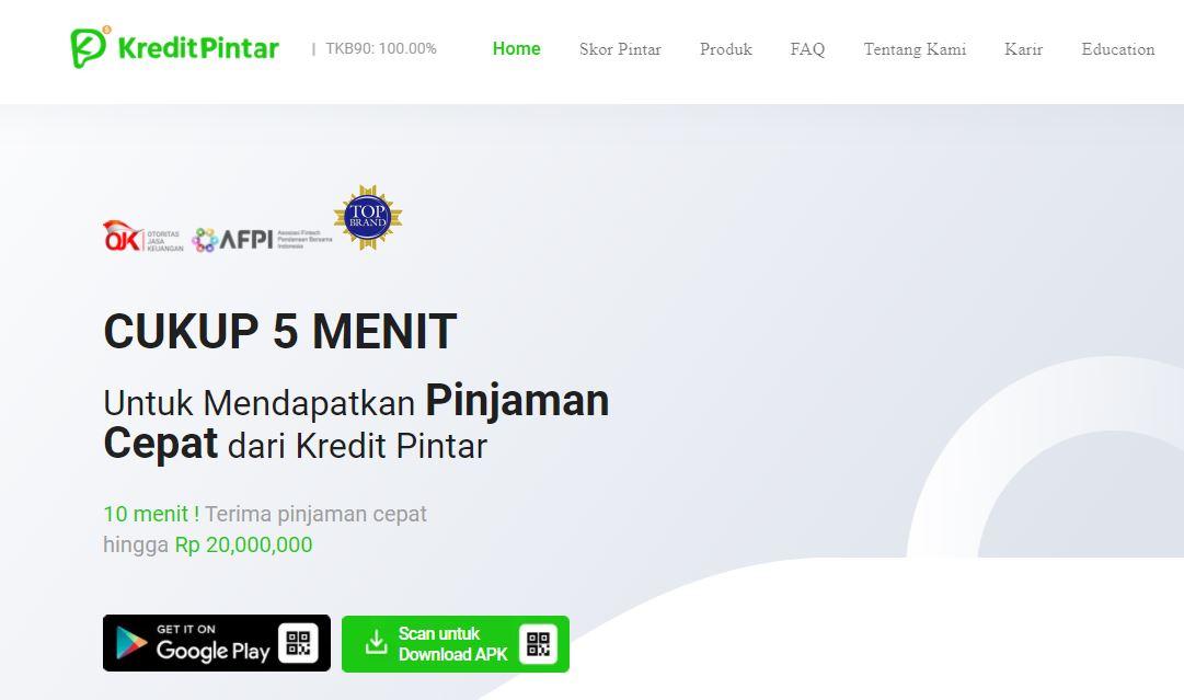 Kredit Pintar Aplikasi Pinjaman Online cepat cair 2021