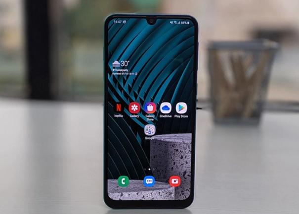 Samsung Galaxy M30s Ponsel Kapasitas Baterai 6000MaH