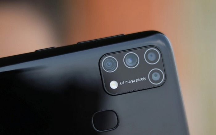 Samsung Galaxy M31 Ponsel Kapasitas Baterai 6000MaH