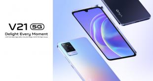 Spesifikasi Vivo V21 5G, Smartphone Paling tipis 2021