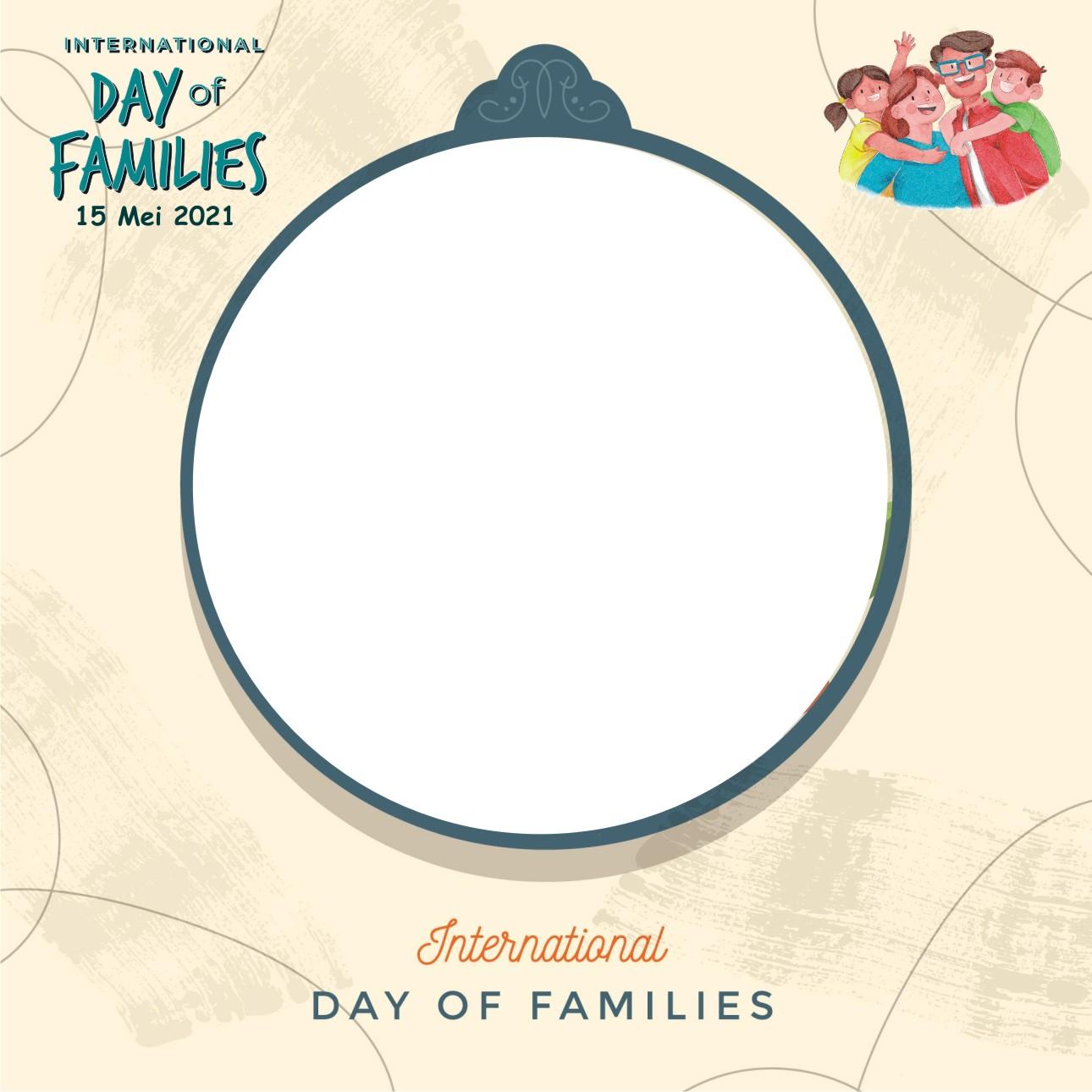 Twibbon hari keluarga internasional 2021