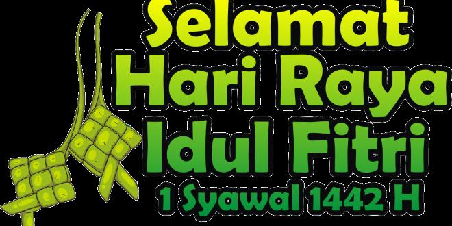 stiker whatsapp selamat hari raya idul fitri 2021 png