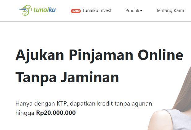 tunaiku pinjaman online tanpa jaminan