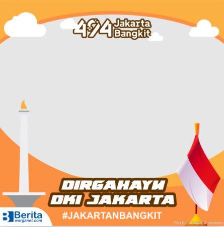 Twibbon HUT DKI Jakarta 2021