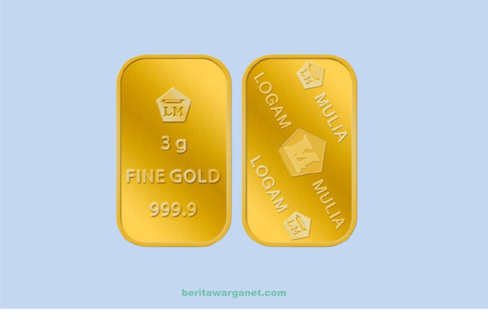 Harga Emas Hari ini 22 Juni 2021