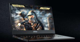 MSI GS65 Stealth, Laptop ultraportabel bezel tipis