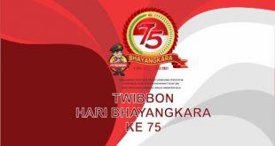TWIBBON HARI BHAYANGKARA 75