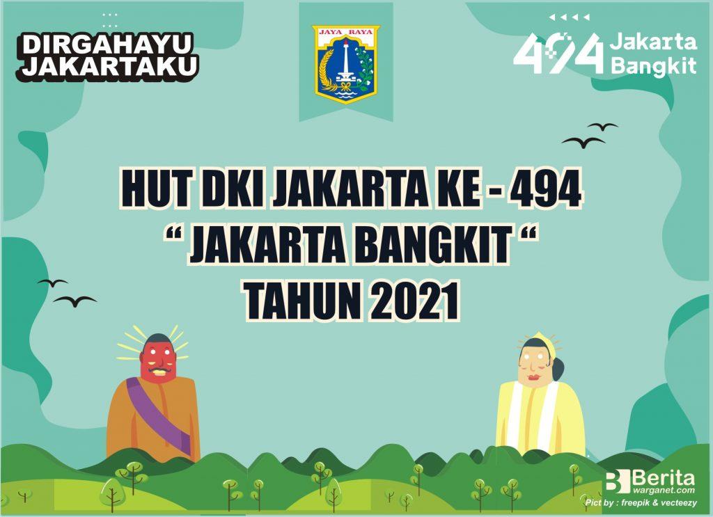 POSTER HUT DKI JAKARTA 494