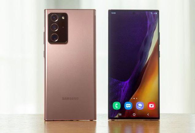 Samsung Galaxy Note 20 Ultra Daftar Smartphone terbaik untuk dibeli di Tahun 2021