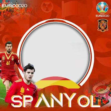 TWIBBON EURO 2020 DUKUNG SPANYOL