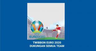 TWIBBON EURO 2020DUKUNGAN SEMUA TEAM