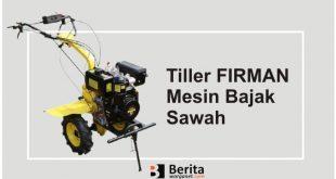 Tiller FIRMAN Mesin Bajak Sawah