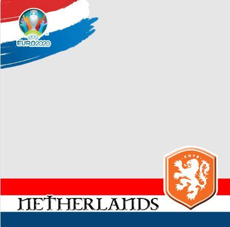 Twibbon EURO 2020 Saya Dukung Belanda