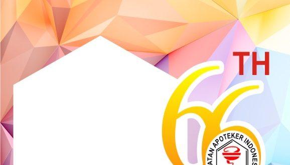 Twibbon HUT Ikatan Apoteker Indonesia 2021