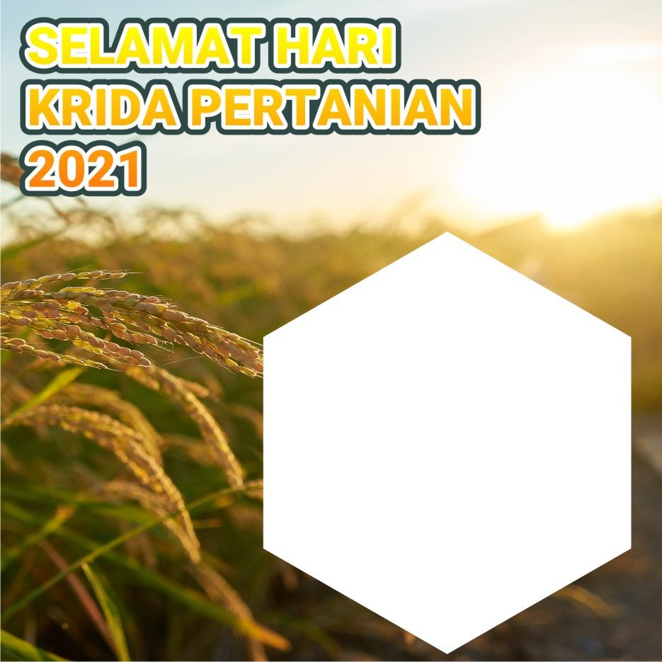 Twibbon Hari Krida Pertanian 2021
