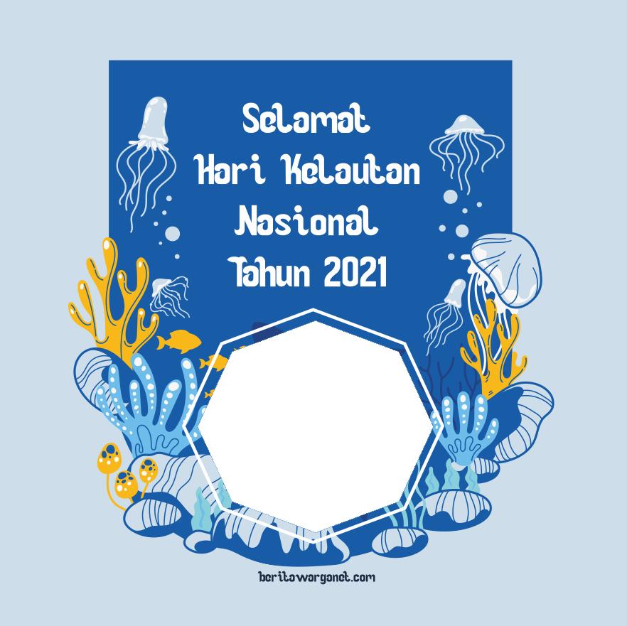 Twibbon Hari kelautan nasional 2021 2