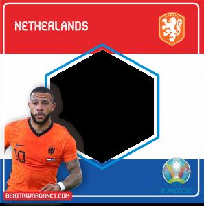Twibbon Euro 2020 Netherlands