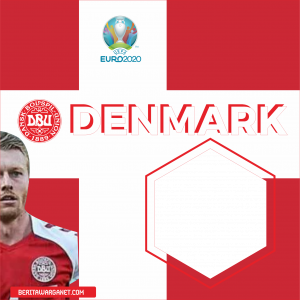 Twibbon Euro 2020 Denmark
