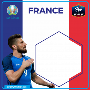 Twibbon Euro 2020 France
