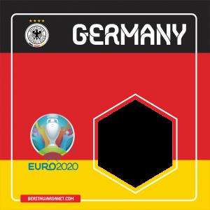 Twibbon Euro 2020 Germany
