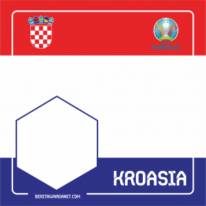 Twibbon Euro 2020 Kroasia