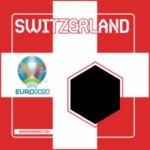 Twibbon Euro 2020 Switzerland