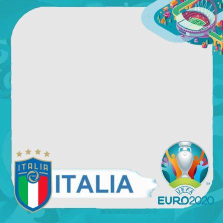 twibbon euro 2020 dukung italia