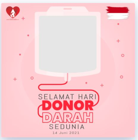 twibbonize hari donor darah sedunia 2021 karya irizuna