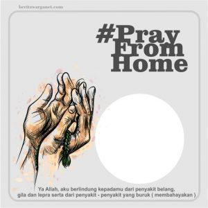 twibbon #prayfromhome