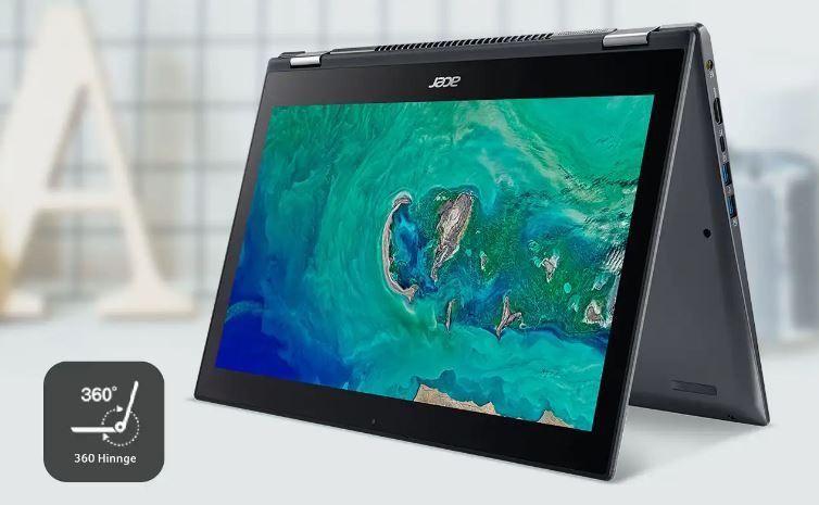 Laptop Acer Terbaik 2020 Acer Spin 1 (SP111-34N-P2TR) Intel Pentium Silver N5000