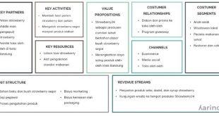 contoh bisnis model canvas bisnis makanan