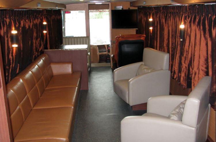 interior bus umah mlaku