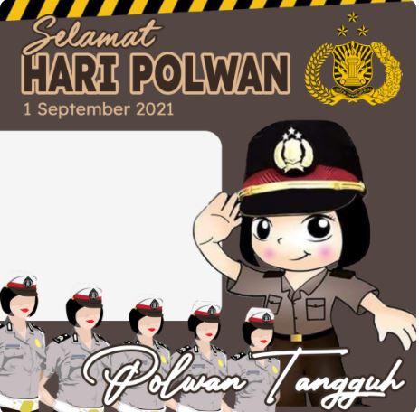 Twibbonize Hari Polwan 2021